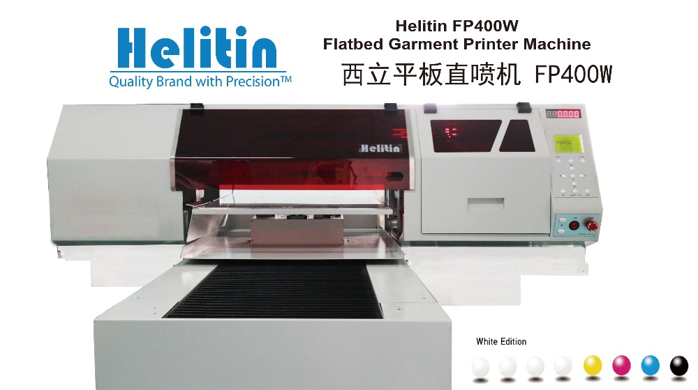 2016 CE approved desktop full colors digital flatbed printer