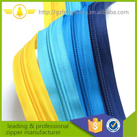 high quality eco-friendly 3#5#7#8#10# nylon zipper for bags and garments