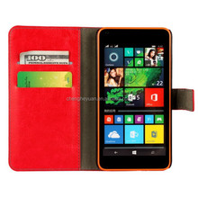 luxury bracket stand holster filp leather phone case cover for microsoft lumia 640