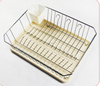 New new products wire plastic dish drainer tray
