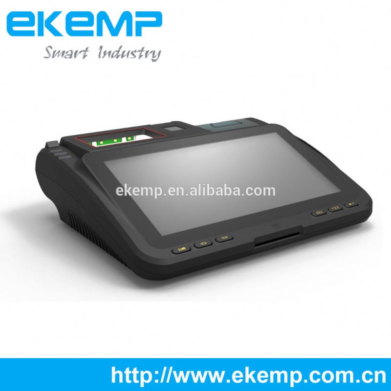 Android Embedded POS Support 3G WIFI Barcode Scanner RFID Thermal Printer