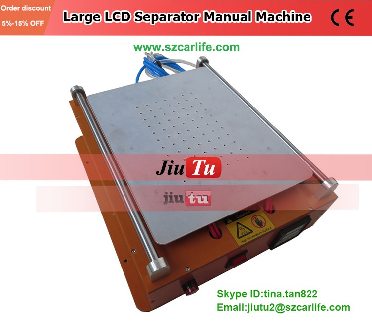 New Design Manual Large Touch Screen Lcd Separator Machine Repair Cell Phone/ Pad /Teblets Under 14 inch