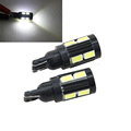 Hot sale T10 car led 5630 10smd interior lamp auto license plate light
