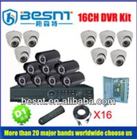 Top sale besnt surveillance camera system, h.264 stand-alone 16ch wired DVR Kit BS-T16D5