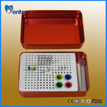 Sterilization Organizer Holder Container 180-holes Burs File Point dental endo box