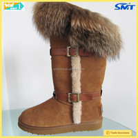 2015 new product name brand snow boot on alibaba express