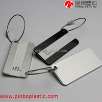 id card luggage tag with mini small design,thermal baggage tag for traveling,promotion gifts metal luggage tag