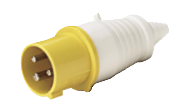 ip44 plug CE 16/32 A 3P+E 380-415V Industrial plug POWER Factory Direct Hot selling Waterproof plug pointed tail
