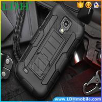 1pc/lot Defender Holster Heavy Duty Future Armor Cell Phone Kickstand Case For Samsung Galaxy S4 Mini i9190 Cover With Belt Clip