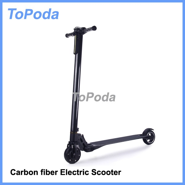 Portable carbon fiber electric scooter for Christmas