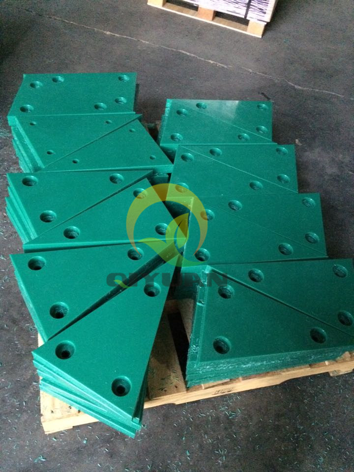 Virgin pe uhmw lining solution lining sheet for mining black plastic liners