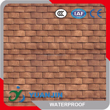 Types of roof covering sheets House Shingle Colored Stone Coated Roof Tile
