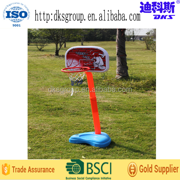 Indoor Adjustable Backboard Basketball Stand Good Gift for Children