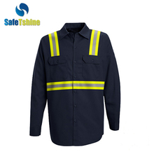 China manufacturer durable safety FR fire retardant suit shirt