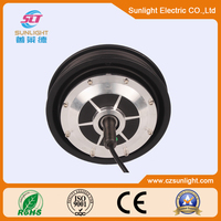 10 inch size 250W brushless dc hub motor for electric vehicle