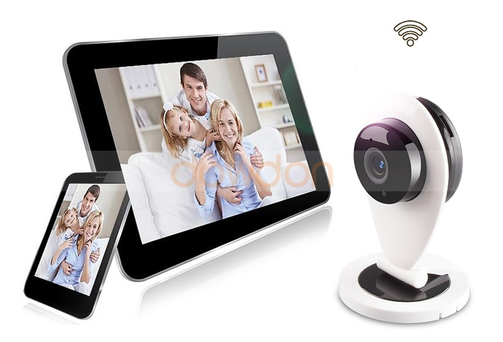 HD 720P Mini Wifi IP Camera Wireless Baby Monitor Network CCTV Security Camera Home Mobile Remote CMOS Camera