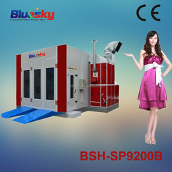 BSH-SP9200B China alibaba thermal car paint booth/preparation station/painting cabinet