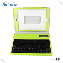 Cheapest hotsell Fashional wireless with BQB 9.7 tablet pc leather case bluetooth keyboard