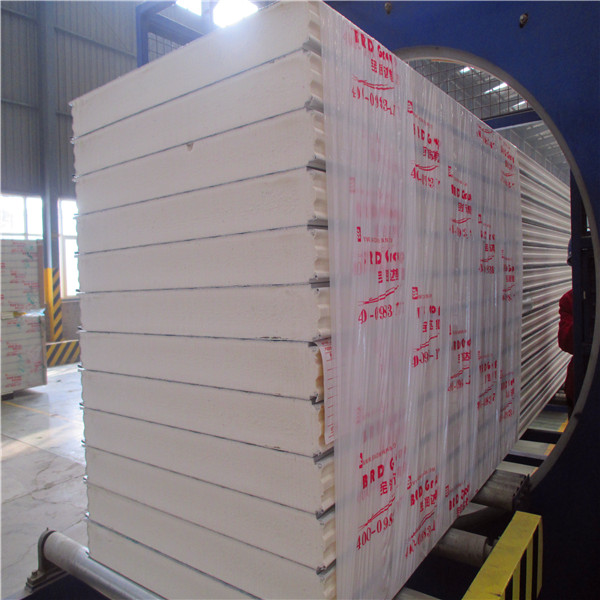 Great!! Wholesale!! stainless steel Pu sandwich panel for Cold storage cold room color steel pu panel
