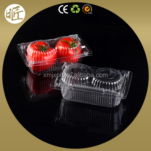 Eco friendly food grade packaging hard plastic box