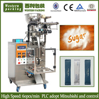 Paper, Plastic Packaging Material and Automatic Grade Small Sugar Pouch Packing Machine
