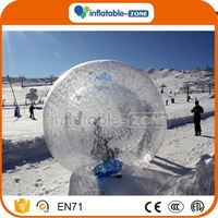 Best seller funny inflatable human sized hamster ball for sale adult/ kids hamster ball