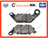 Top quality motorcycle brake pad,disc brake pad YBR125/BAJAJ100/GY200