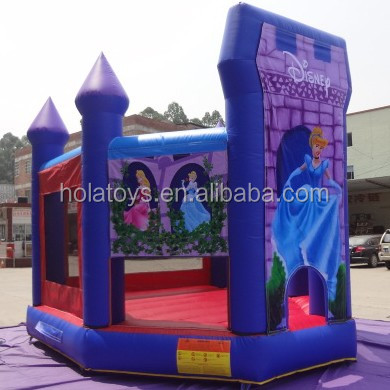 New princess Cinderella bounce house/inflatable bouncy castle/bouncy castle