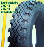 Bias Tubeless light truck tire 6.40/6.30-13 LT for Pakistan and Philippines market