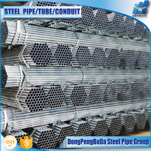 21.3*2.6mm CHS AS1163 galvanized steel pipe for irrigation