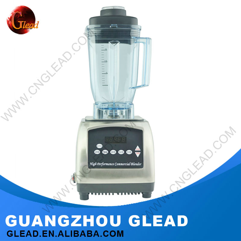 Commercial Electric Stainless Steel quiet blender smoothie maker