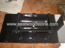 Traditional Stone Sinks in Black Granite