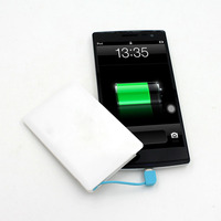 Top selling products portable credit card power bank 2600