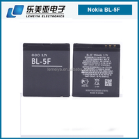 New high mAh Rechargeable BL-5f Battery for Nokia Lumia low price chinese battery for nokia