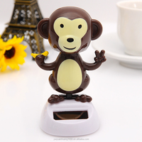 Dancing monkey toy solar dancing animals