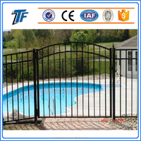 TuoFang Cheap Ornamental Galvanized Fence Steel Bar Fence
