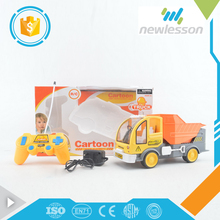 Hot wholesale lowest price children toys 6 channels plastic truck toy for rc cleaner