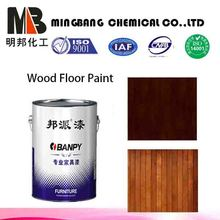 PU scratch resistant wood clear lacquer paint
