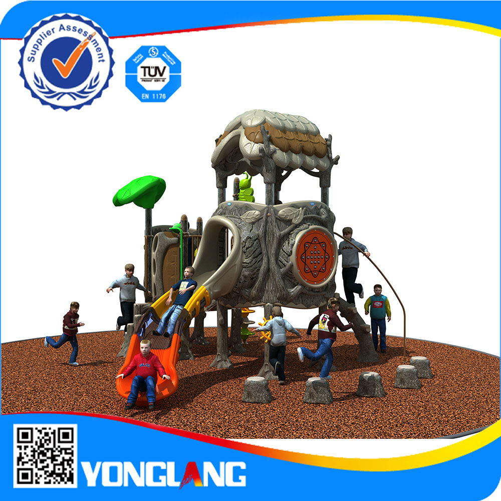 kids plastic games attractive outdoor park models playground for kids