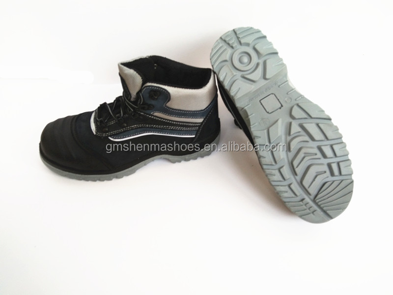 nubuck leather new design high quality safety shoes and S3 double safety