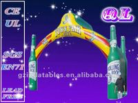 2016 {QiLing} promotional event inflatable beer arch
