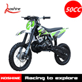 50 CC Mini Kids Gas Kick Start 2 Stroke Pocket Dirt Bike