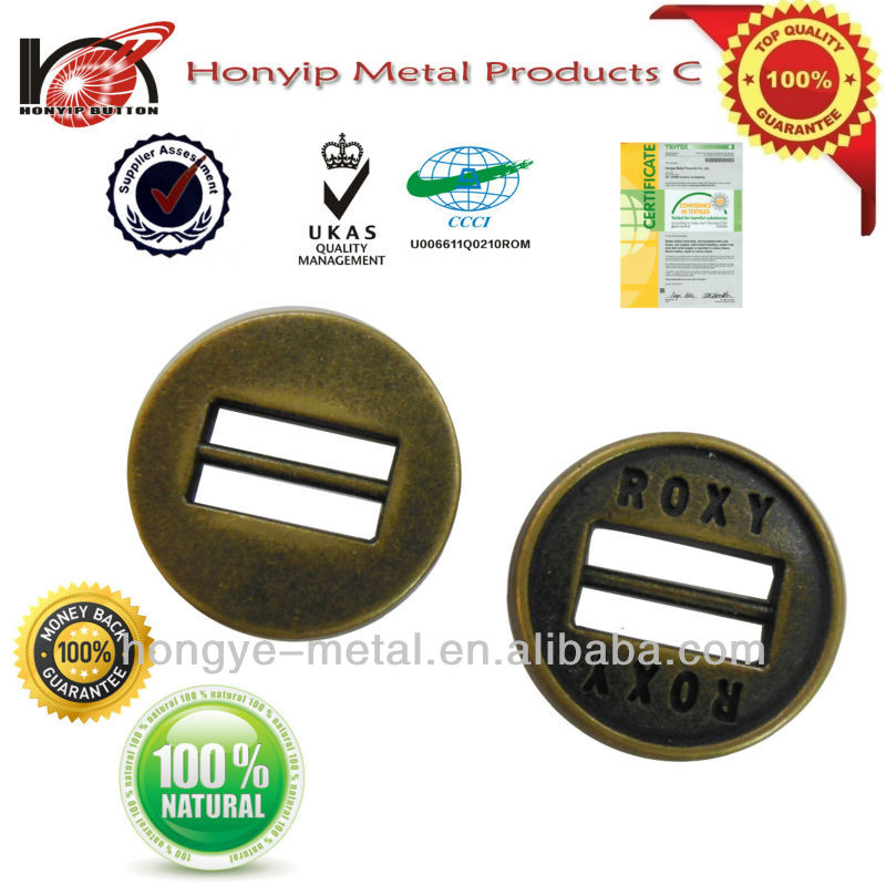Special type rectangle hole antique fansy 2 holes sewing buttons with logo in BEST price TOP quality NICKLE FREE LEAD FREE