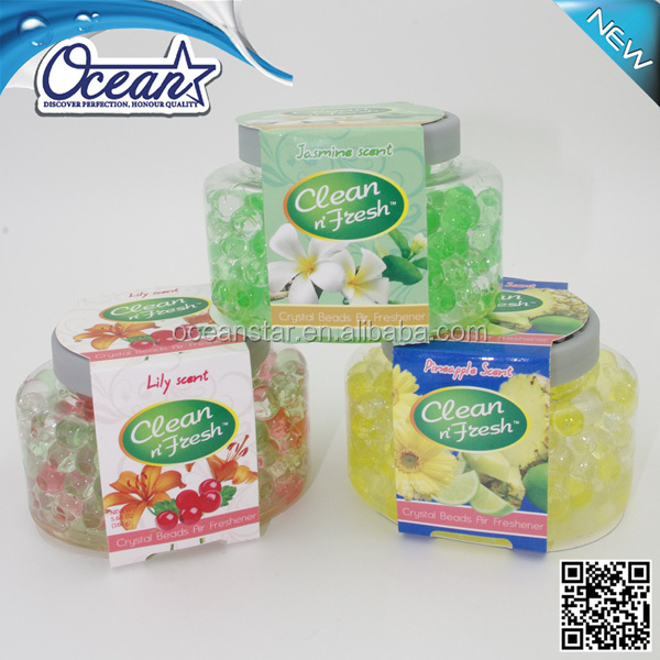 150g water beads for air freshener/colorful crystal beads air freshener/christmas car air fresheners