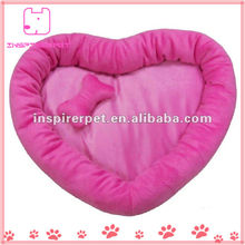 Soft Pet Bed Red Heart Shape Animates Dog Beds