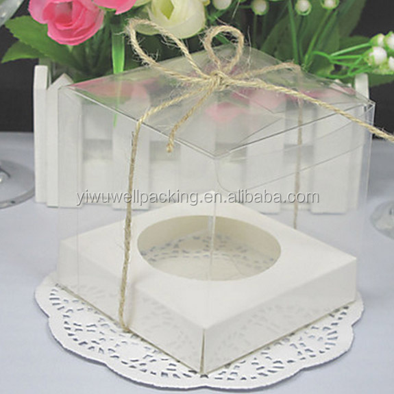 Alibaba express china pvc cupcake boxes ,clear cupcake box -6cm diameter buy chinese products online