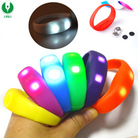 Night Jogging Motion Controlled Led Glow Wristband, Motion Activated Bracelet, Light Up Wristband