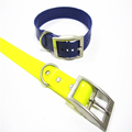 Simple Design Colorful 3/4'' TPU Dog Collar For Whippet Dogs