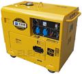 Copper Wire Genset Canopy Soundproof Silent Diesel Portable 5kW Generator Price