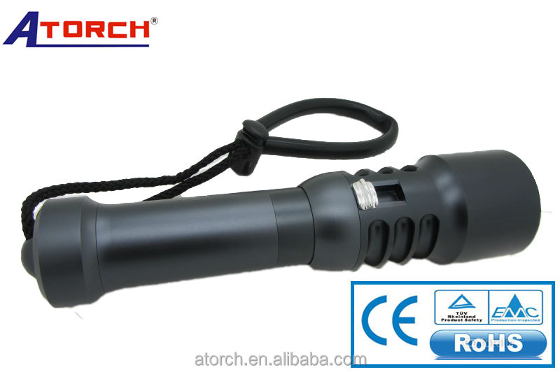 powerful and brightest flashlight underwater hunting tools